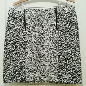 Cute leopard print skirt